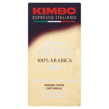 Kawa 100% arabica mielona - Kimbo pozwoli Ci zacząć każdy dzień w dobrym humorze.