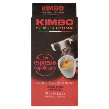 Kawa Espresso Napoletano mielona - Kimbo zachowuje wspaniały aromat i smak.
