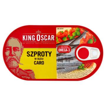 Szproty w oleju caro 170g - King Oscar - prosto z Bałtyku