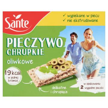 Sante – Chrupkie pieczywo oliwkowe jest lekkie i sprawdzi się zamiast tradycyjnego pieczywa