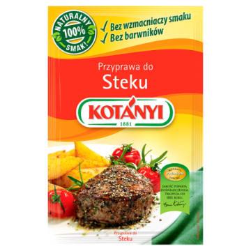 Przyprawa do steku – Kotanyi to specjalna mieszanka do mięsa wołowego i wieprzowego.