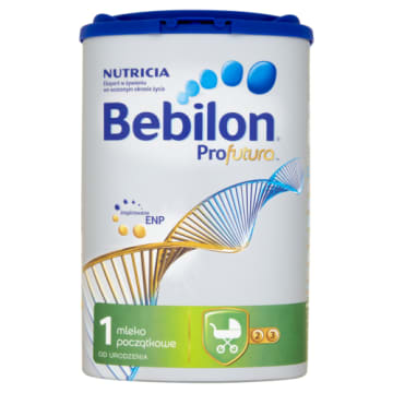 Mleko od urodzenia - Bebilon. Przeznaczone dla dzieci, które nie mogą być karmione piersią.