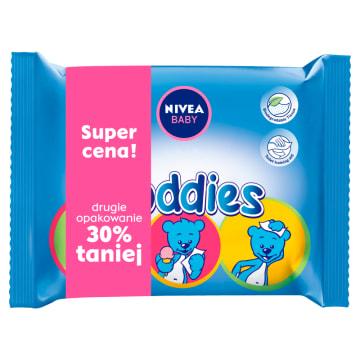 Chusteczki Toddies Nivea Baby czyszczą i chronią skórę dziecka.