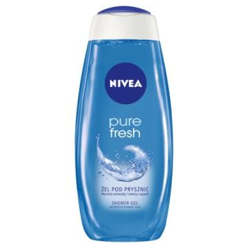 Nivea - Żel pod prysznic Pure Fresh - 500ml pozwala uzyskać wspaniałe uczucie odświeżenia na dłużej.
