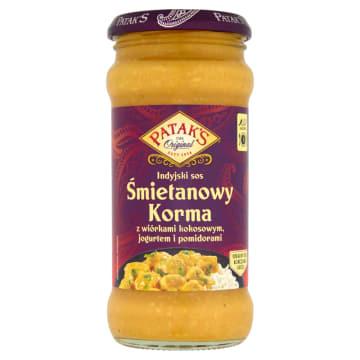 Indyjski łagodny sos Korma