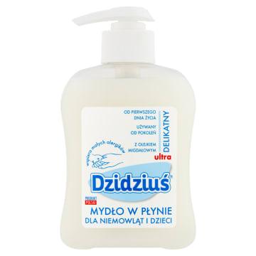 Mydło w płynie - Dzidziuś. Mydło z olejkiem migdałowym przeznaczone dla dzieci po 1 miesiącu.