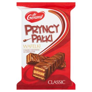 PryncyPałki - wafelki w deserowej czekoladzie