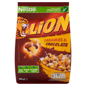 Płatki Lion 500g - Nestle