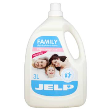 Płyn do zmiękczania tkanin – Jelp to delikatny produkt do prania ubrań całej rodziny.