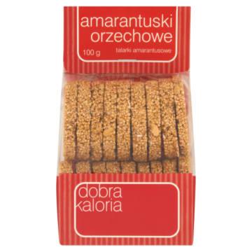 Dobra kaloria-Amarantuski z orzechami to smaczne i chrupiące ciasteczka.