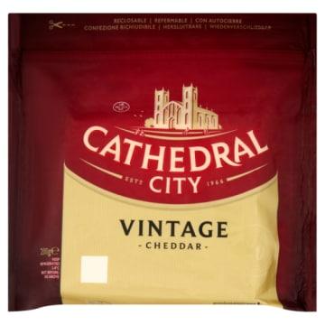 Ser Cheddar Vintage - Cathedral City. Smak i jakość nie do podrobienia.