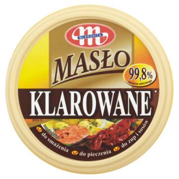 Masło klarowane do smażenia, pieczenia oraz kanapek od Mlekovita