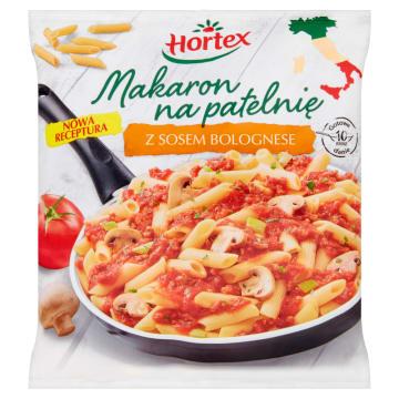 Makaron na patelnię - Hortex. Mrożony makaron do szybkiego przygotowania dań obiadowych.