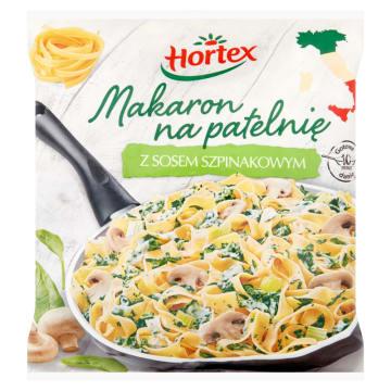 Makaron z sosem szpinakowym - Hortex pozwala łatwo i szybko przygotować danie.