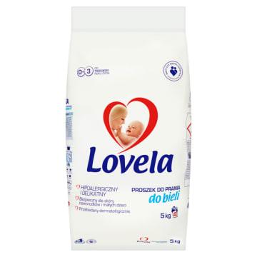 Proszek do białych tkanin - Lovela 5kg. Proszek do prania białych ubranek niemowlęcych i dziecięcych