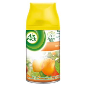 Air Wick - Odświeżacz powietrza Citrus - wkład. Nadaje pomieszczeniom cytrusową świeżość.
