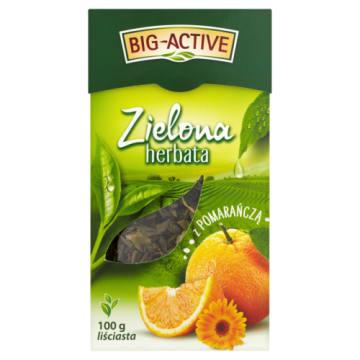 Liściasta herbata zielona z pomarańczą - Big - Active