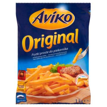 Mrożone frytki - Aviko Original. Chrupiąca przekąska pod przerwy.