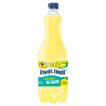 Żywiec Zdrój Gaz z sokiem o smaku cytrynowym. Doskonale gasi pragnienie.