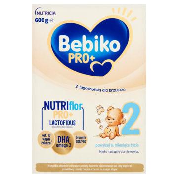 Mleko modyfikowane po 6m.-Bebiko Pro. Wspomaga zdrowy rozwój dziecka.
