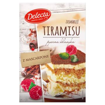 Ciasto Tiramisu - Delecta to łatwy sposób na włoski deser.