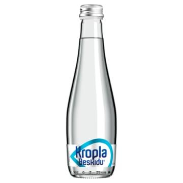 Niegazowana woda mineralna - Kropla Beskidu. Naturalna woda mineralna nasycona dwutlenkiem węgla.