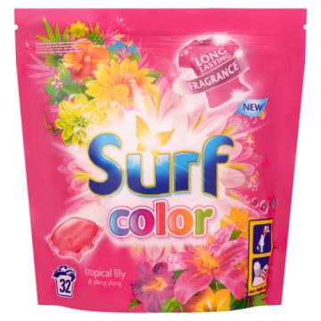 Kapsułkido koloru - Surf. Doskonałe do prania kolorowych ubrań.