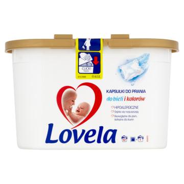 LOVELA - hipoalergiczne kapsułki do prania (12 sztuk). To wygodny sposób na pranie.