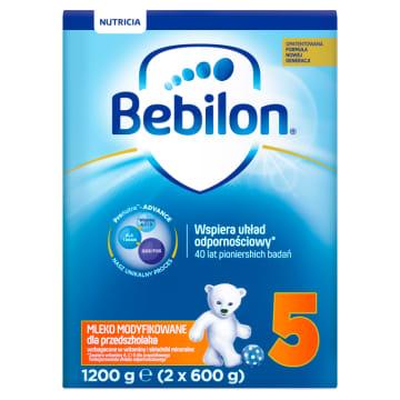 BEBILON Junior 5 Mleko Modyfikowane z Pronutra+ ADVANCE - po 3 roku życia. Wszystko co najlepsze dla rozwoju dziecka.
