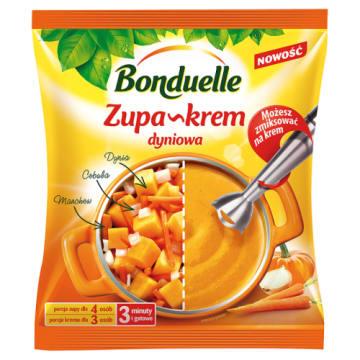 Zupa krem z dyni – Bonduelle doskonała na jesienny obiad.