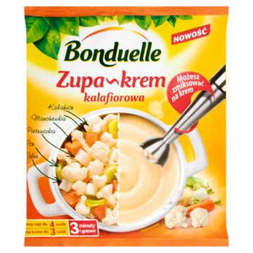 Zupa krem z kalafiora – Bonduelle doskonała na domowy obiad.