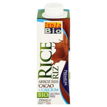 ISOLA BIO Napój ryżowy z kakao wzbogacony w wapń 250ml