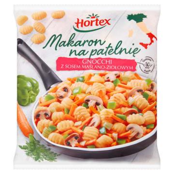 HORTEX Makaron na patelnię gnocchi z sosoem maślano-ziołowym 450g