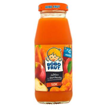 BOBO FRUT Sok jabłko i marchewka - Po 4 miesiącu 175ml