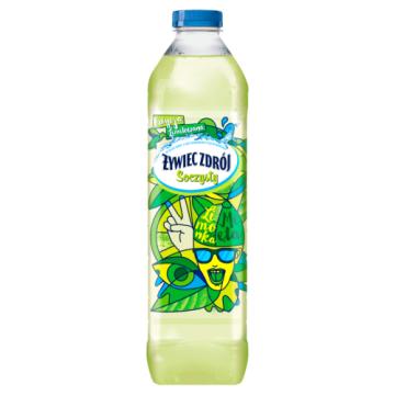 ŻYWIEC ZDRÓJ Soczysty Napój niegazowany  limonka- mieta 1.5l