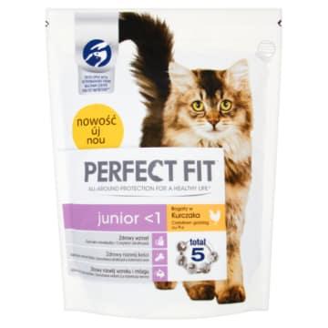 PERFECT FIT JUNIOR Karma pełnoporcjowa dla kociat i ciężarnych karmiących 750g