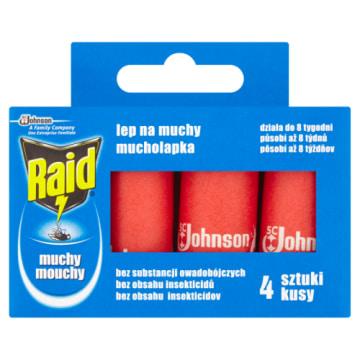 RAID Lep na muchy 4 szt. 1szt