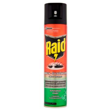 RAID Aerozol przeciw owadom biegającym z olejkiem eukaliptusowym 400g