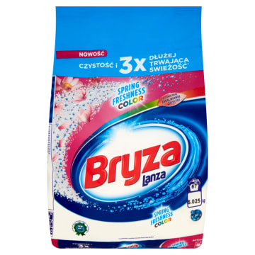 BRYZA Lanza Spring Freshness Proszek do prania do tkanin kolorowych 5.025kg