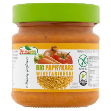 PRIMAECO Paprykarz wegetariański z kaszą jaglaną  BIO 160g