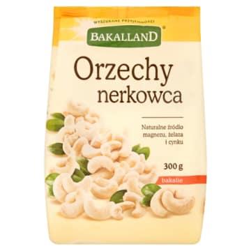 Orzechy Nerkowca - Bakalland to chrupiąca porcja witamin oraz składników odżywczych.