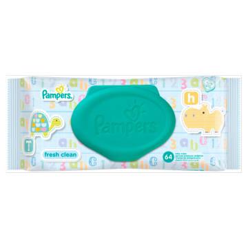 Chusteczki Pielęgnacyjne - PAMPERS. Produkt przeznaczony dla najmłodszych.