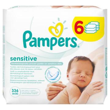 Chusteczki nawilżane - Pampers Sensitive to najlepszy produkt do pielęgnacji skóry dziecka.