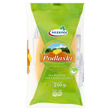 Ser Podlaski w kawałku – Mlekpol zachwyci tradycyjnym smakiem każdego.