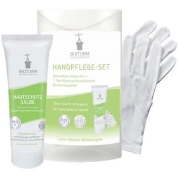 BIOTURM Intensywna kuracja dłoni z rękawiczkami  z pantenolem 50ml