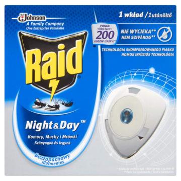 RAID Night & Day Przeciw muchom komarom i mrówkom - zapas 0ml