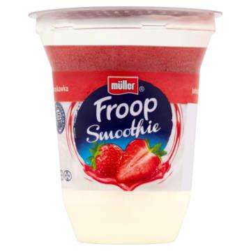 Muller – Froop jogurt z musem truskawkowym -