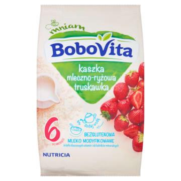 Kaszka mleczno-ryżowa – Bobovita. To lekkostrawny, pełnowartościowy posiłek dla dzieci.