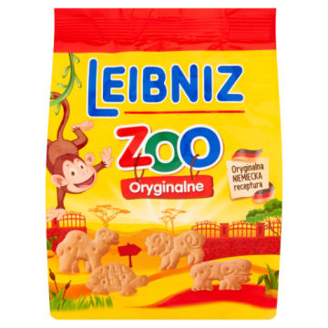Herbatniki ZOO - Bahlsen Leibniz. Pyszne ciasteczka o ciekawych kształtach.