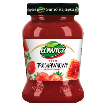 Łowicz Dżem truskawkowy to doskonały produkt bez sztucznych dodatków.